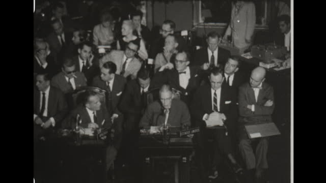 6th conference of foreign ministers of the organization of american states in costa rica. - 1960 stock videos & royalty-free footage
