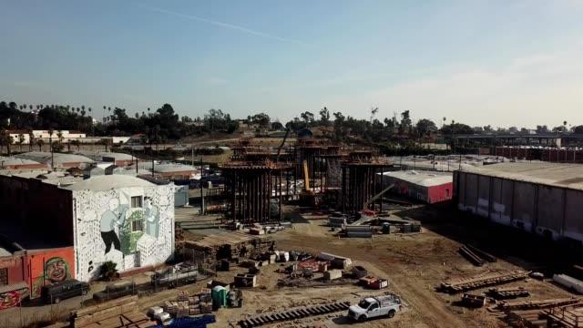 6th St. Viaduct Bridge construction site