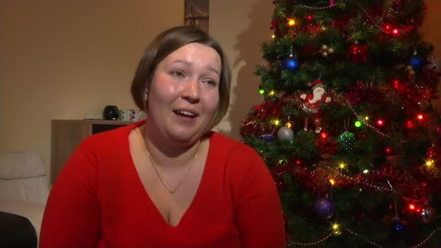 6yearold boy to spend his first Christmas at home after undergoing second multiple organ transplant Edyta Steczkiewicz interview SOT he was so...