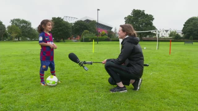 6yearold boy trains with liverpool fc england liverpool ext various of 6yearold arat hosseini during football training and showing off his impressive... - showing off stock videos & royalty-free footage