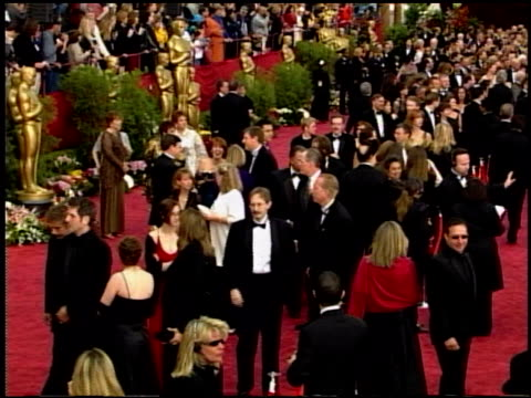 74th academy awards press room at the 2002 academy awards at the kodak theatre in hollywood, california on march 24, 2002. - 74th annual academy awards stock videos & royalty-free footage