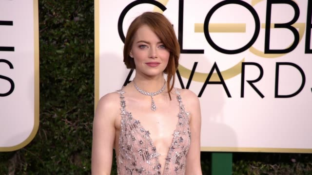 stockvideo's en b-roll-footage met clean 74th annual golden globe awards arrivals at the beverly hilton hotel on january 08 2017 in beverly hills california - golden globe awards