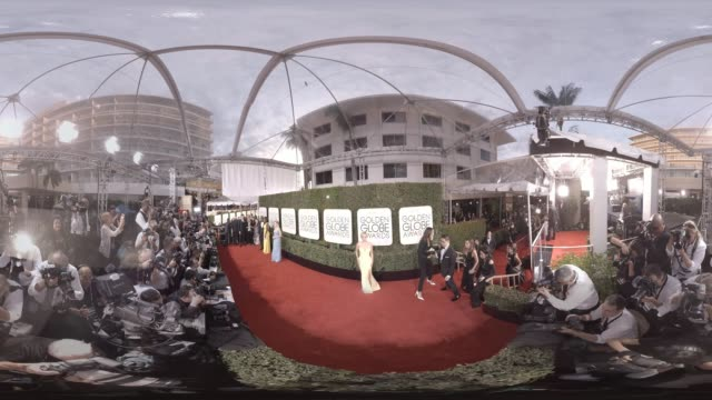 CAPSULE 74th Annual Golden Globes Red Carpet 360 Montage