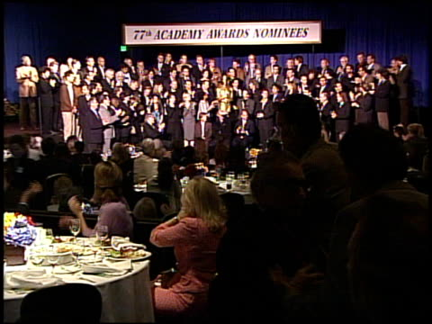 77th Annual Academy Awards Nominee Class Photo at the 2005 Annual Academy Awards Nominee Luncheon Interview Room at the Beverly Hilton in Beverly...