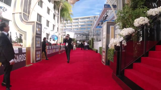 atmosphere hyperlapse 77th annual golden globe awards at the beverly hilton hotel on january 05 2020 in beverly hills california - golden globe awards stock videos & royalty-free footage