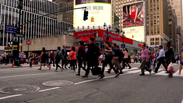 7th avenue. 33 street. bank of america. subway station. - bank of america stock videos and b-roll footage