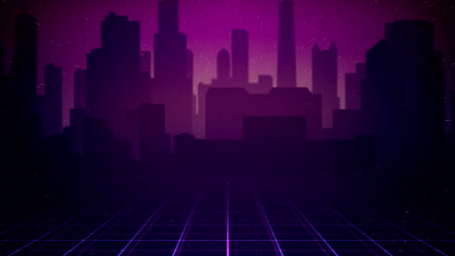 80s City Background Loop Stock Footage Video - Getty Images