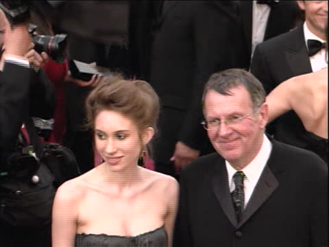 80th academy awards oscars in 2011 he was nominated for an emmy for outstanding supporting actor in a mini-series or movie for the kennedys he is... - トム ウィルキンソン点の映像素材/bロール