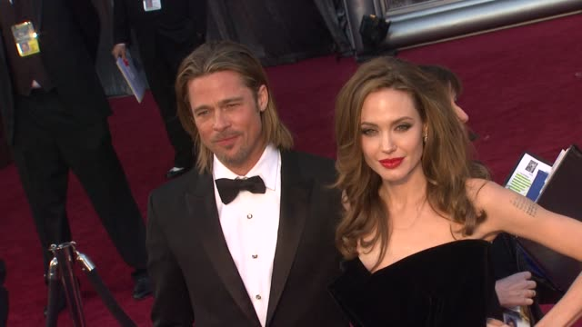84th annual academy awards - arrivals, hollywood, ca, united states, 02/26/12 - academy awards stock-videos und b-roll-filmmaterial