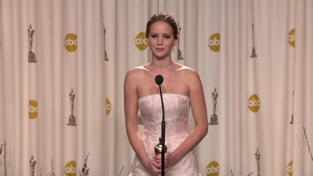 CLEAN 85th Annual Academy Awards Press Room Hollywood California 2/24/2013