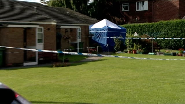 85yearold woman found dead in her burnedout home england county durham stocktonontees ext police car parked outside house where body of patricia... - county durham england stock videos & royalty-free footage