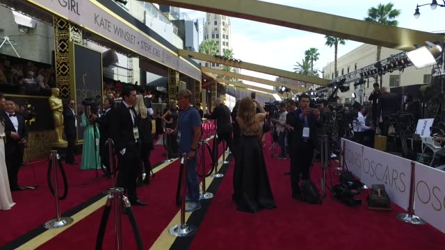 ATMOSPHERE 88th Annual Academy Awards Arrivals at Hollywood Highland Center on February 28 2016 in Hollywood California
