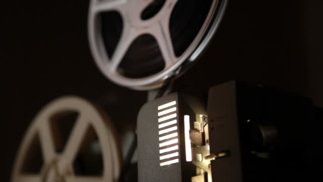 8mm film projector - 8mm film projector stock videos & royalty-free footage