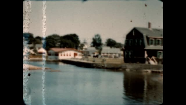 8mm home movie of cape ann from the late 1930's. - 1930 1939点の映像素材/bロール