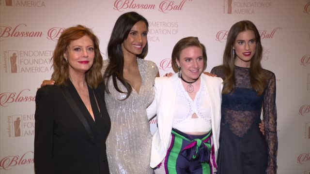 8th annual blossom ball to benefit the endometriosis foundation of america at pier sixty at chelsea piers on april 19, 2016 in new york city. - chelsea piers stock videos & royalty-free footage