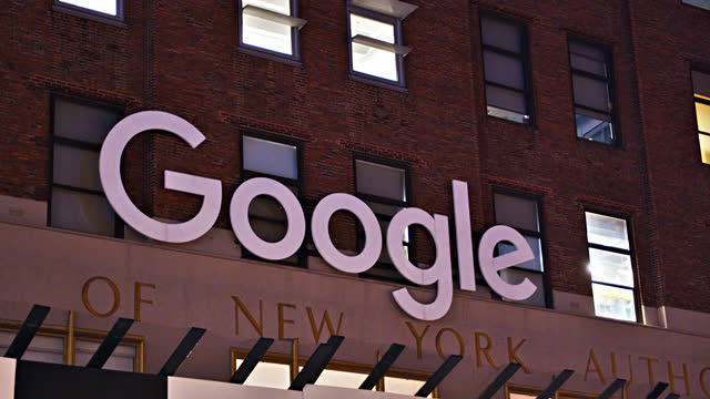 111 8th ave. google sign. - big data stock videos & royalty-free footage