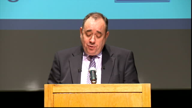 Alex Salmond speech Salmond speech SOT Can I declare my colours as a fully signed up Anglophile It was my Labour predecessor bafflingly who seemed to...
