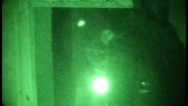 8th special operations kandak commandos advised by us special operations forces conducted raids on suspected taliban compounds in sayyidabad district... - night vision stock-videos und b-roll-filmmaterial
