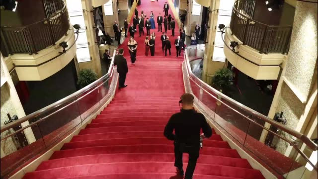 timelapse 90th academy awards arrivals alternative views at dolby theatre on march 04 2018 in hollywood california - academy awards stock videos & royalty-free footage
