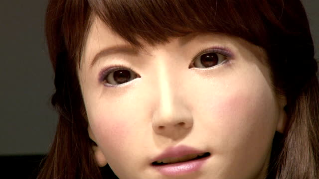 ERICA a female robot produced by research teams from Osaka University and Kyoto University was unveiled to the press on Monday August 3 The robot...
