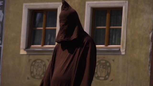cu of a hangman  - eastern european culture stock videos & royalty-free footage