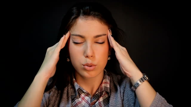a headache - nutritional supplement stock videos and b-roll footage