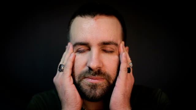 a headache - chronic illness stock videos and b-roll footage