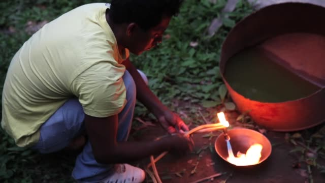 CU a miner using a blowtorch to purify crude gold The region of Madre de Dios in SouthEastern Peru has been devastated by illegal gold mining it has...