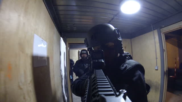 a special report on the rise in the number of armed police officers in the uk a leading firearms unit has told sky news they were inundated with... - west midlands stock-videos und b-roll-filmmaterial