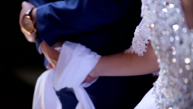 a symbol of eternal inseparability,orthodox wedding - cinemanis videography stock videos & royalty-free footage