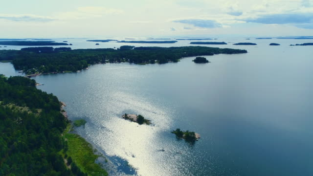 a view to the archipelago, The Baltic Sea, Hamina, Finland