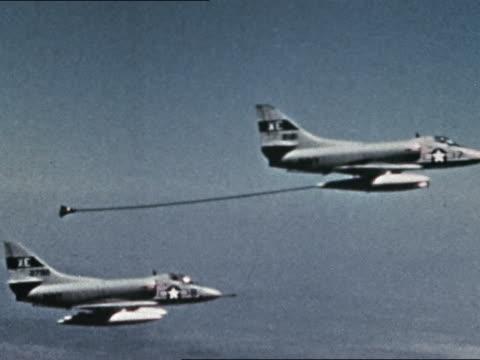 A4s refueling in flight
