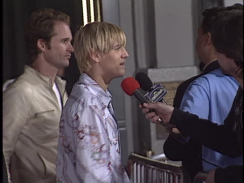 Aaron Carter at the Indentity Premiere at Manns Chinese Theater Hollywood in Hollywood CA