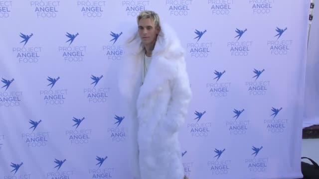 Aaron Carter at The Project Angel Food 2017 Angel Awards on August 19 2017 in Los Angeles California