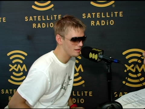 Aaron Carter at the XM Satellite Radio Rocks The Style Villa Day Two at the Sagamore Hotel in Miami Beach Florida on August 27 2005