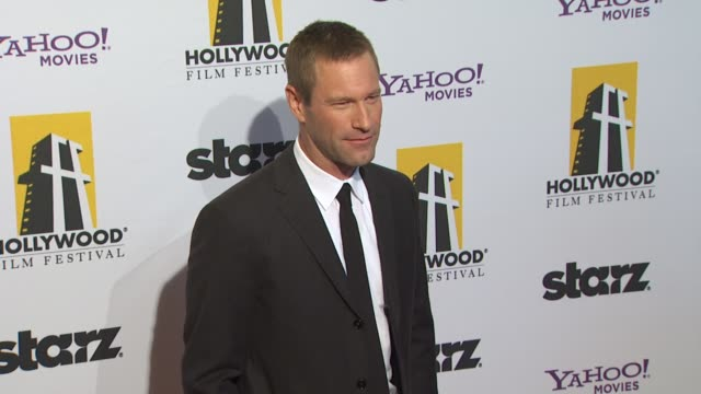 Aaron Eckhart at the 14th Annual Hollywood Awards Gala at Beverly Hills CA