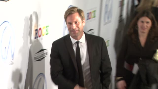 aaron eckhart at the 20th annual producers guild awards at los angeles ca - aaron eckhart stock videos & royalty-free footage