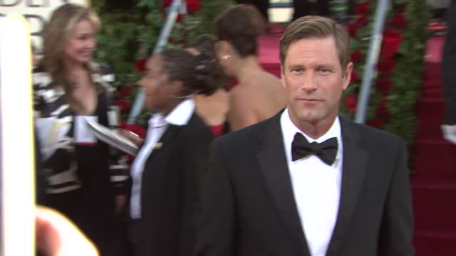 Aaron Eckhart at the 66th Annual Golden Globe Awards Arrivals Part 4 at Los Angeles CA