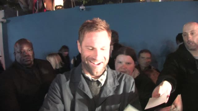 Aaron Eckhart at the Celebrity Sightings in Los Angeles at Los Angeles CA