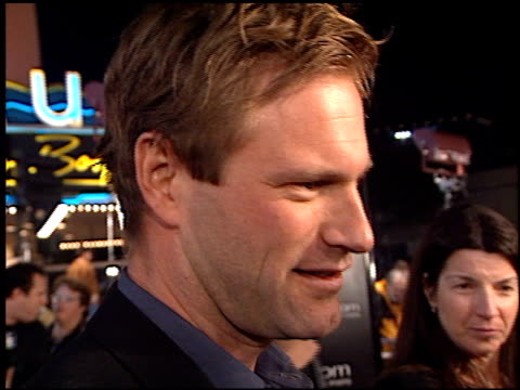 Aaron Eckhart at the 'Erin Brockovich' Premiere on March 14 2000