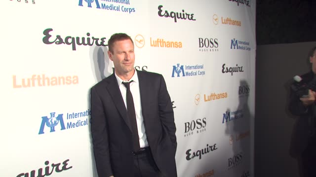 Aaron Eckhart at the Esquire Celebrates The Grand Opening Of Esquire House LA With International Medical Corps Benefit at Los Angeles CA