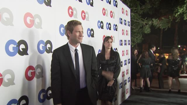 Aaron Eckhart at the GQ Men of the Year Awards at Los Angeles CA