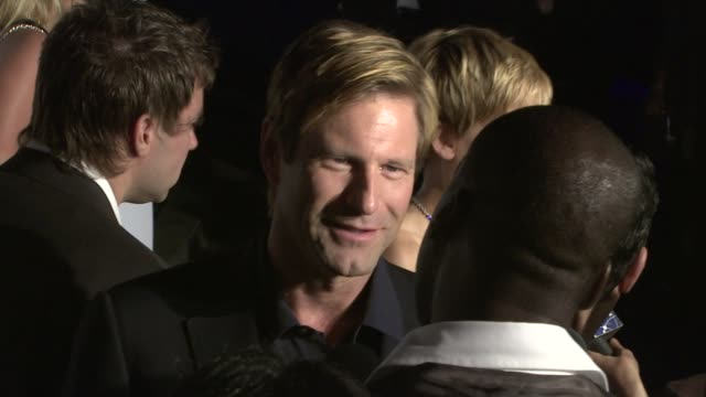 Aaron Eckhart at the NAKHEEL THE TRUMP ORGANIZATION Introduce The Trump International Tower and Hotel Dubai at Los Angeles CA