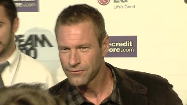 Aaron Eckhart at the Spike TV's 'Scream 2010' at Los Angeles CA
