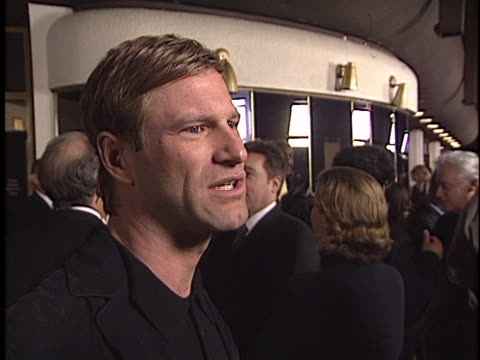 Aaron Eckhart at the The Core Premiere at Westwood in Westwood CA