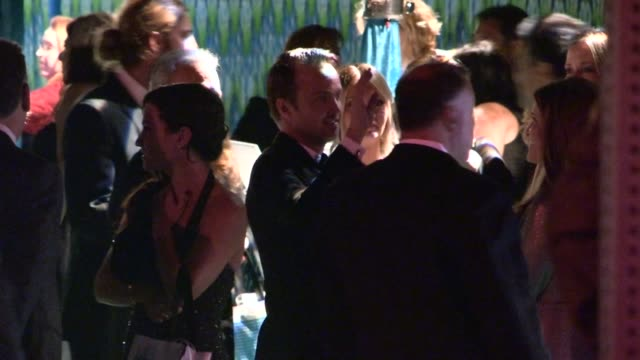 aaron paul and lauren parsekian depart hbo's post emmy awards party at pacific design center at celebrity sightings in los angeles aaron paul and... - emmy awards stock-videos und b-roll-filmmaterial