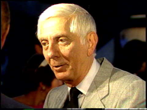 Aaron Spelling at the 'night Mother' Premiere at DGA in Los Angeles California on September 9 1986