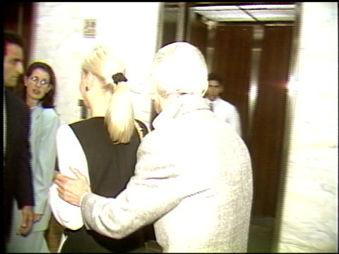 aaron spelling at the tori spelling youth aids award at 6464 sunset building in los angeles, california on january 1, 1992. - tori spelling stock videos & royalty-free footage