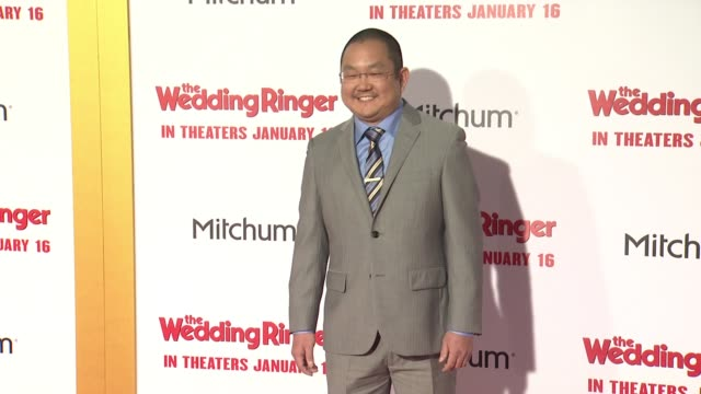 Aaron Takahashi at The Wedding Ringer Los Angeles Premiere at TCL Chinese Theatre on January 06 2015 in Hollywood California
