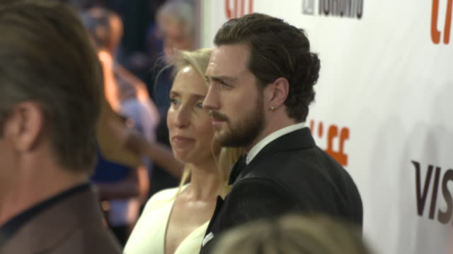 Aaron TaylorJohnson at Roy Thomson Hall on September 06 2018 in Toronto Canada